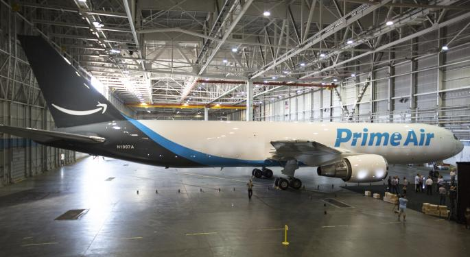 Morgan Stanley: Amazon Air Could Save The Company Up To $2B In Shipping Costs
