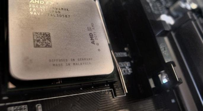 Benzinga Blog | Morgan Stanley Upgrades AMD, Says 'Table Is