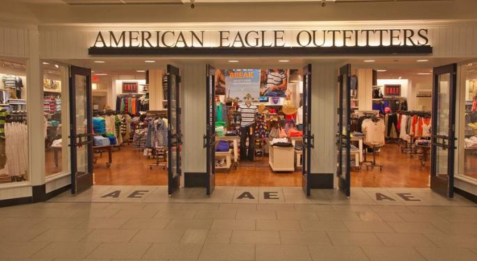 American Eagle Outfitters Could Soar In The Second Half Of 2016; BMO Upgrades