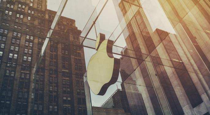 Barclays Lowers Apple's Price Target From $121 To $115, Sees Near-Term Pressure