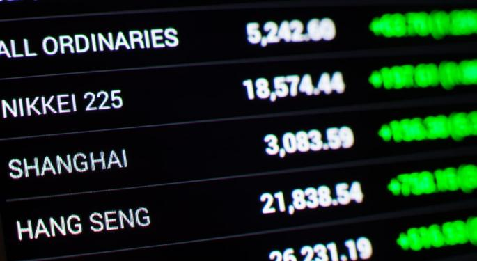 Asian Equities Mixed After US Markets Edged Lower