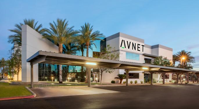 Raymond James: Macro Headwinds Ahead for Avnet