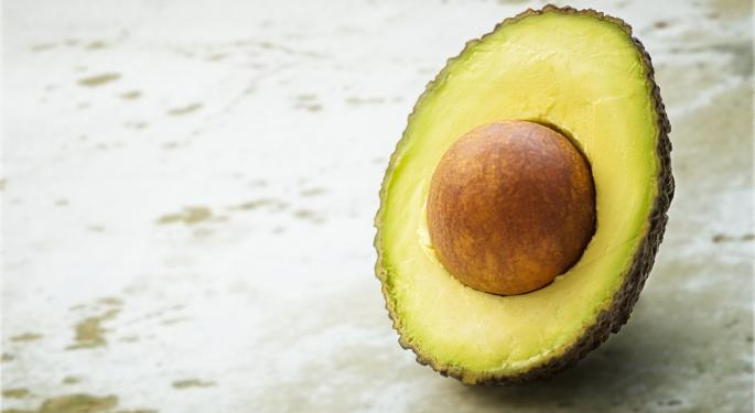 Chipotle Cites Avocado Pricing Pressure In Q4; Unlikely That's Going Away Anytime Soon