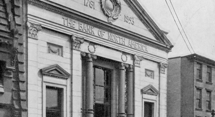 This Day In Market History: First American Bank Opens