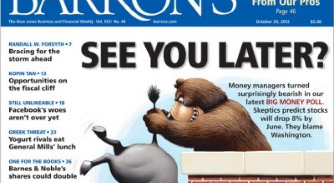 Barron's Recap 10/27/12: The Big Money Poll