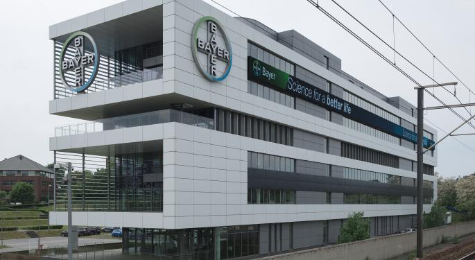 Bayer Trades Higher As Company Reportedly Talks $10B Roundup Cancer Case Settlement
