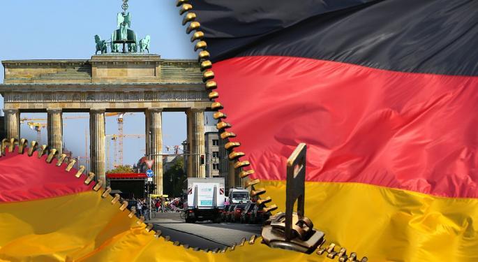 Deutsche Bank Is Crashing