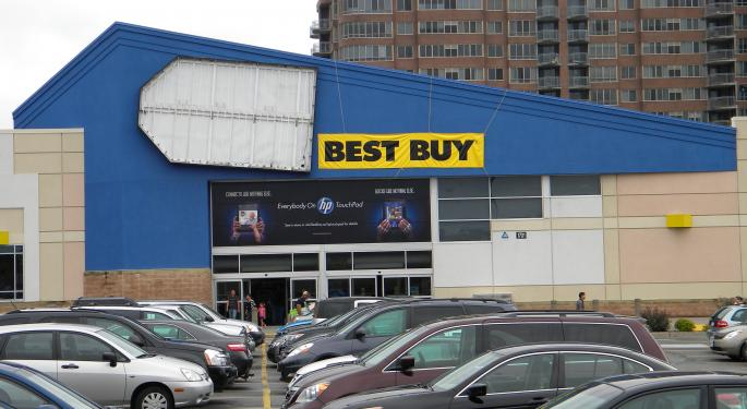 Best Buy Harmed By Difficult Environment; Argus Reiterates Hold