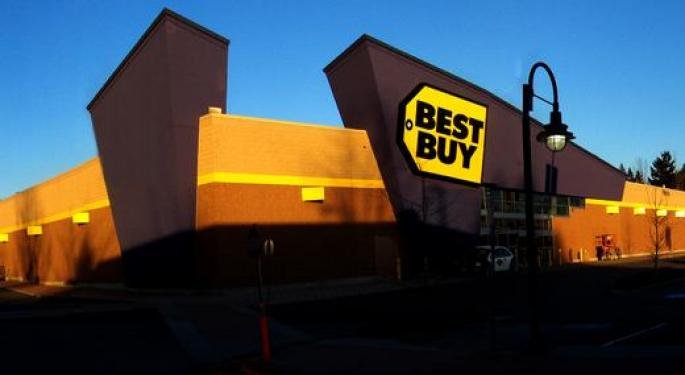 Bank Of America Turns Bearish On Best Buy, Says Retailer Could Miss Q4 Comp Estimate