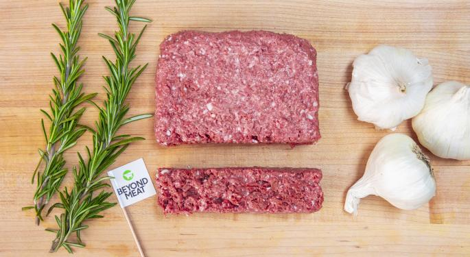 Beyond Meat Products 'Catching On With Consumers,' JPMorgan Says In Upgrade