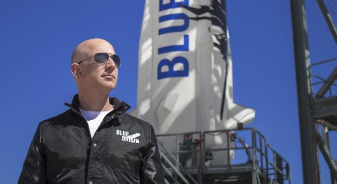 Jeff Bezos Plans To Take Blue Origin To The Moon