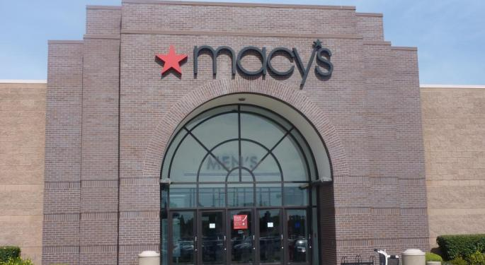 Large Macy's Option Trader Betting On A Rebound Year