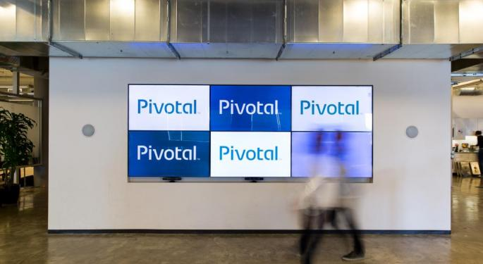 Pivotal Software Rips Higher On Potential Acquisition By VMware