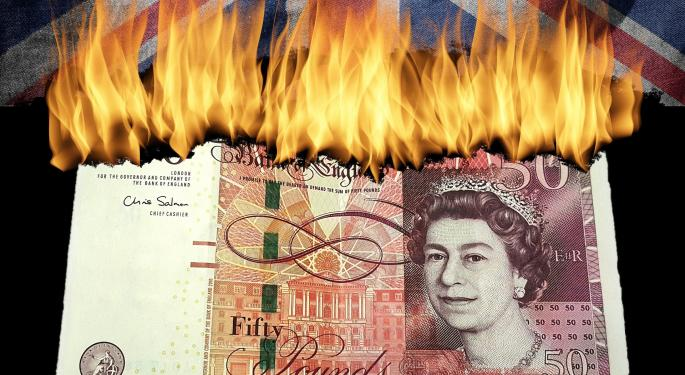 Pound Punishment Is Perfect For These ETFs