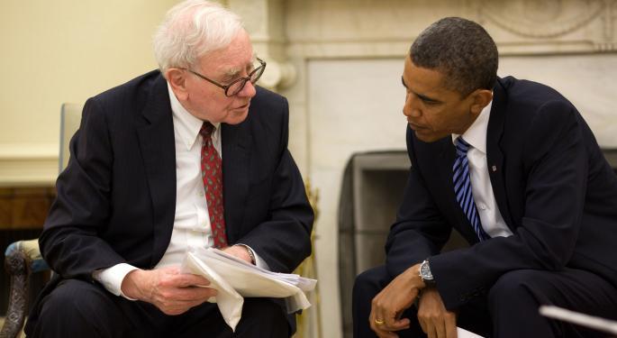 Buffett's Berkshire Raises Stakes In Charter, Visa, GM; Opens New Stakes In 21st Century Fox, Restaurant Brands