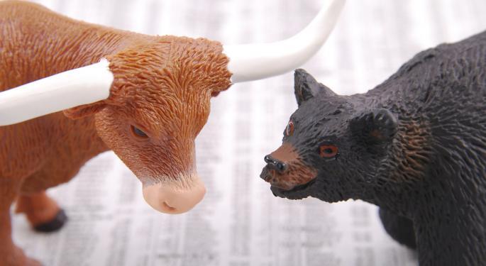 Benzinga's Bulls & Bears Of The Week: AT&T, Caterpillar, Nike, Tesla And More