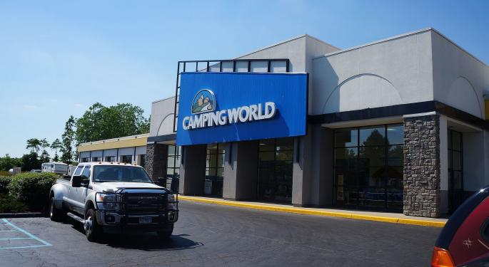Camping World Analyst Downgrades RV Dealer After 'Challenging' Q1
