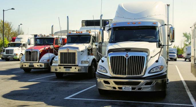 Trucking Freight Futures 11-15-2019