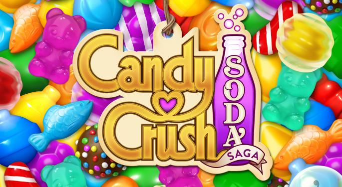 'Candy Crush' Boosts Activision Blizzard, But The Market's Not Playing Along