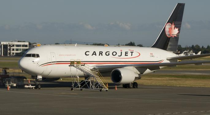 Amazon Agrees To Take Equity Stake In Canadian Airline Cargojet