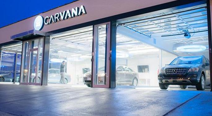 Analyst Takes Carvana For A Spin, Double Upgrades On Solid Float, Long-Term Opportunity