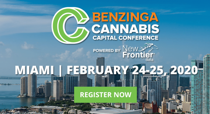 Benzinga's Cannabis Capital Conference To Feature 3 Keynote Speakers in Miami