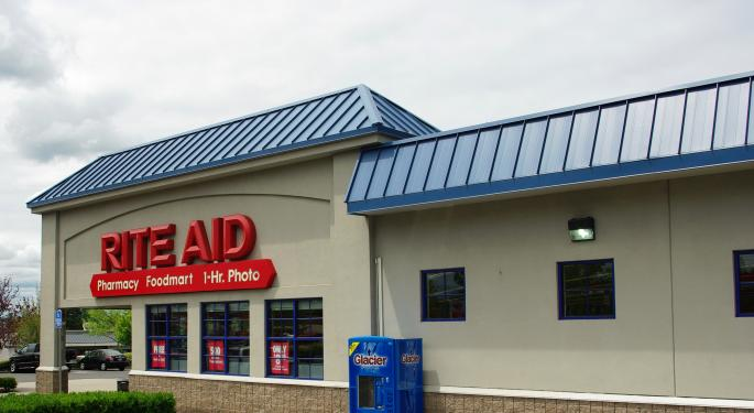 Rite Aid Reports Same Store Sales Decline Of 0.1% In December, Up 1.7% Over 43-Week Period