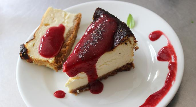 'Blame It On The Rain': Argus Downgrades Cheesecake Factory On Weak Comps From Weather Woes