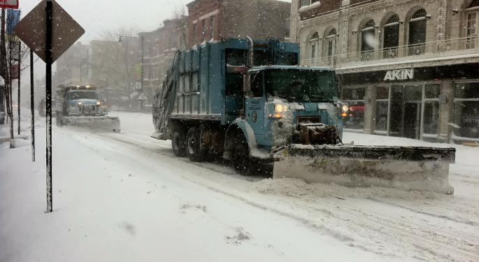 Blizzard Out West This Week, Sloppy Wintry Mix In The East