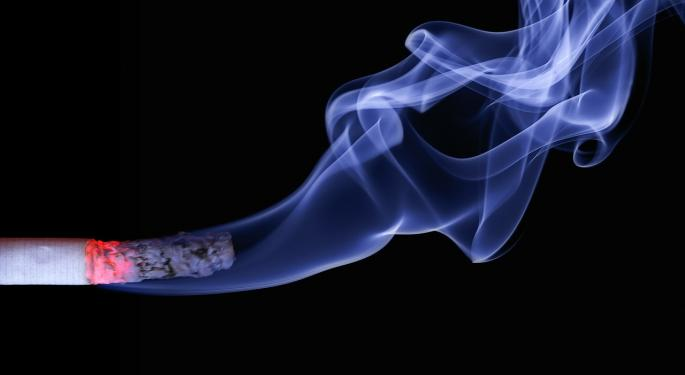 U.S. Demand For Cigarettes The Strongest It's Been In Decades: Citi Initiates Tobacco Names