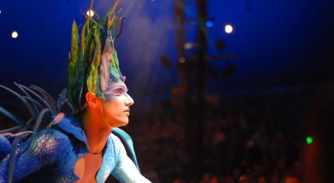 This Circus Tent Just Got Bigger: Cirque Du Soleil Acquires Blue Man Group