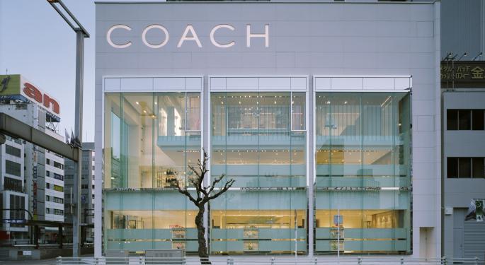 Baird Prefers Carrying Coach Shares Following Handbag Survey