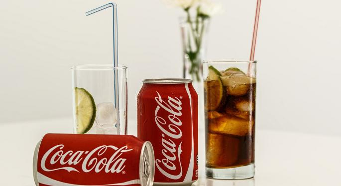 Barclays Finds Coca-Cola's Stock Refreshing As Consumer Staples Industry Suffers