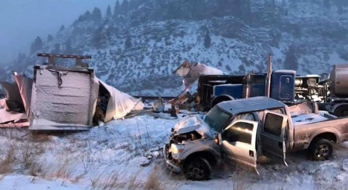 Late-Week Snow Storm Coming To Denver Freight Market With Forecast Video