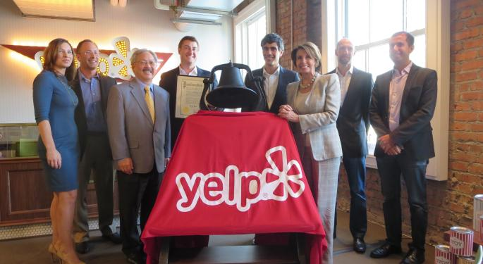Yelp Story Is Now About Catalysts Vs. Competitive Pressure