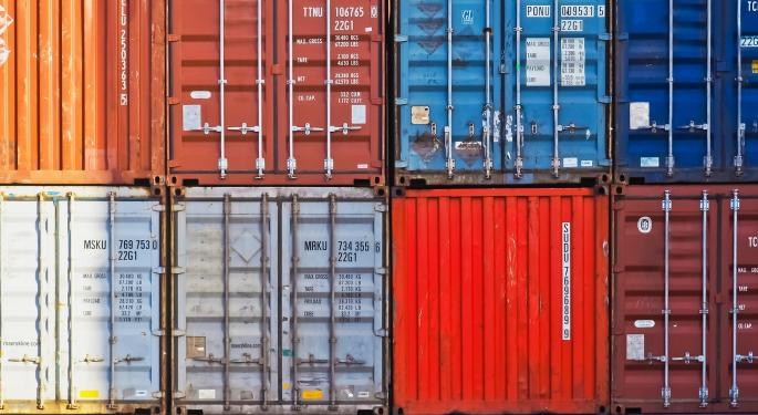Trans-Pacific Container Rates Are Up A Little In November