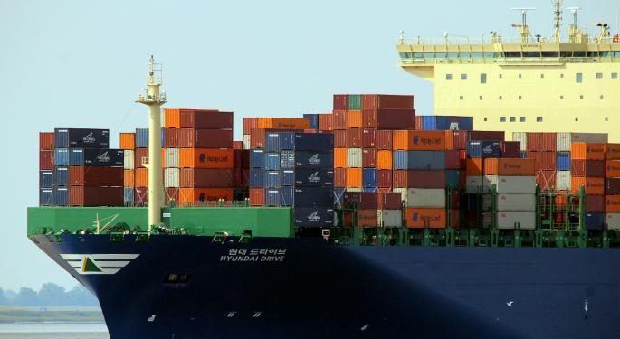 How Many Gallons Of Fuel Does A Container Ship Carry?