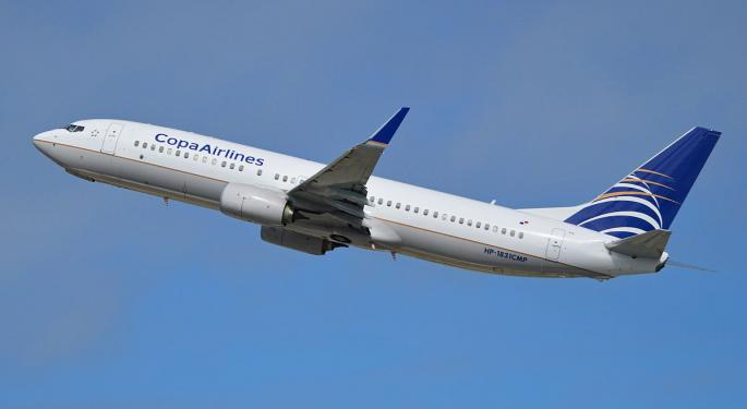 Copa Holdings' 15% Decline Is Just The Beginning, Stifel Says In Downgrade
