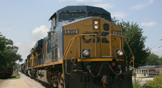 BMO Switches Tracks On CSX, Citing Lower Visibility
