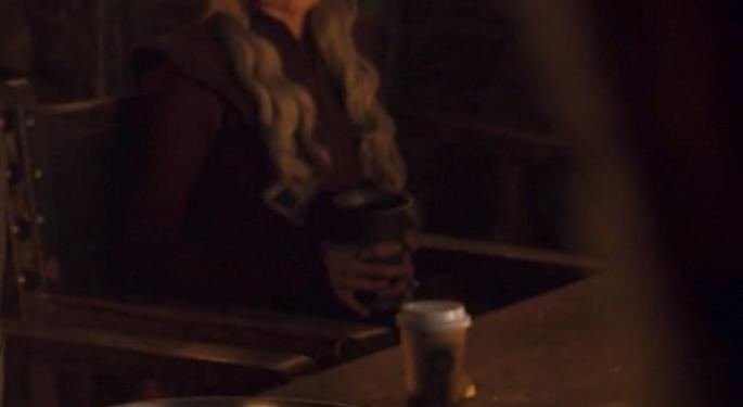 About That Coffee Cup In 'Game Of Thrones': It Wasn't Starbucks