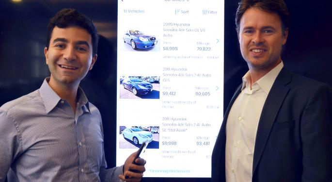 From App Store To Financing In 10 Minutes: AutoGravity Is Fintech's Answer To Car Shopping