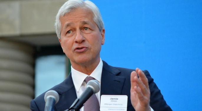 JPMorgan CEO Jamie Dimon: Potential For Zero Rates 'Obviously' A Concern