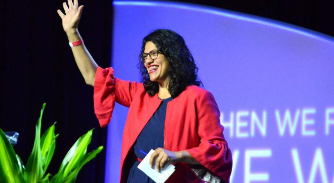 After Trump Attack, Tlaib Tells NAACP: 'I'm Not Going Nowhere, Not Until I Impeach This President'