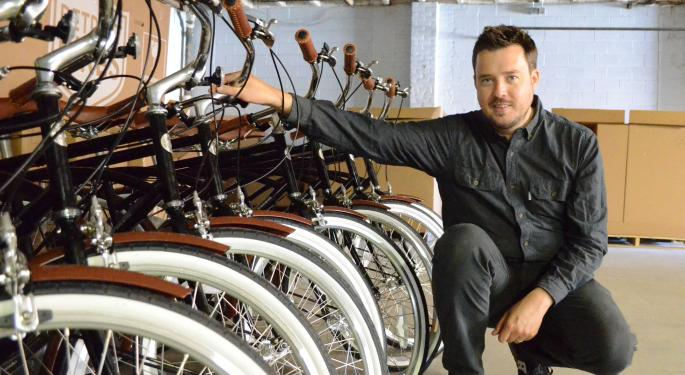 A Company That's Bringing Manufacturing Back To Detroit — On 2 Wheels