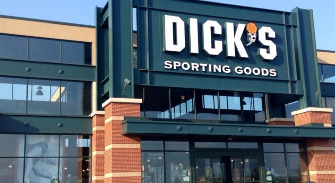 Dick's Sporting Goods Trades Higher On Q2 Earnings, Guidance Raise