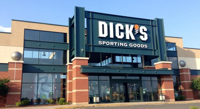 Dicks Sporting Goods Appears Unaffected By Gun Decision, Reports Blowout Q1