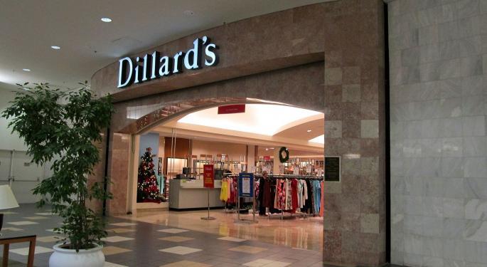 Dillard's Analyst Says Retailer's Markdown Trends Stabilizing
