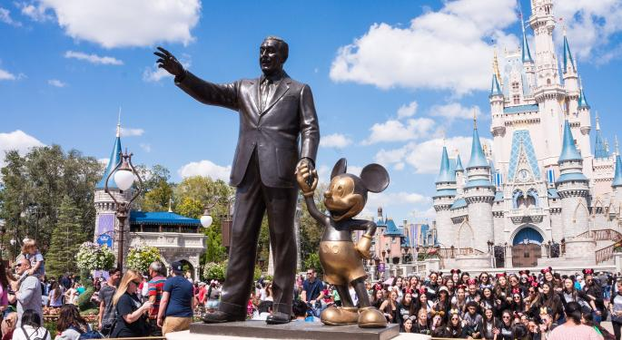 Here's How Much Investing $100 In Disney Stock Back In 2010 Would Be Worth Today