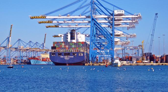 Asia-Europe Box Trade Far Outperforms Asia-US