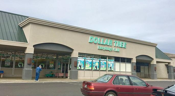 Dollar Tree's Bargain Price Offers 15% Upside